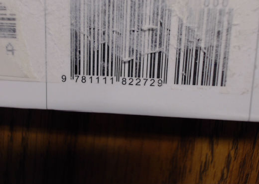different isbn sticker 2