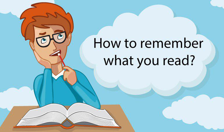 How To Remember What You Read 1
