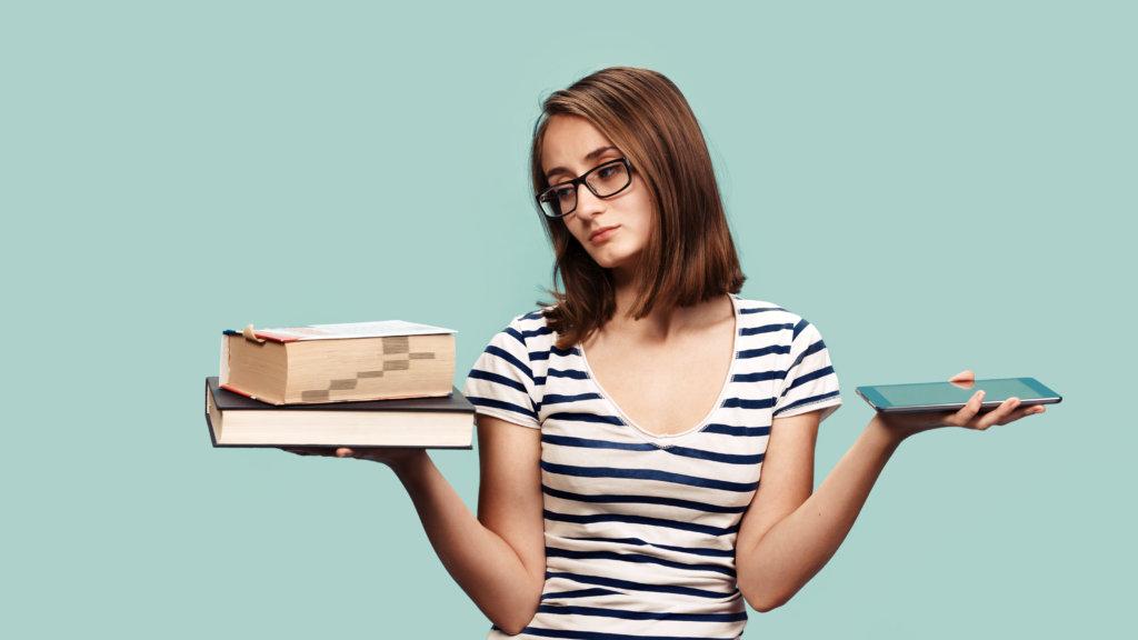 ebooks vs books in the digital world