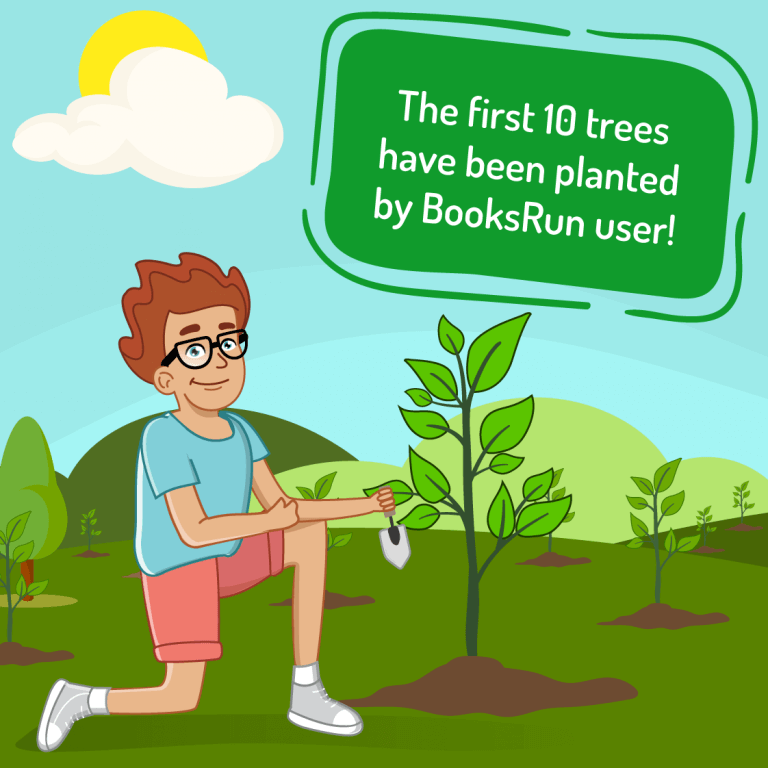 Wow, the first 10 trees have been planted! 3