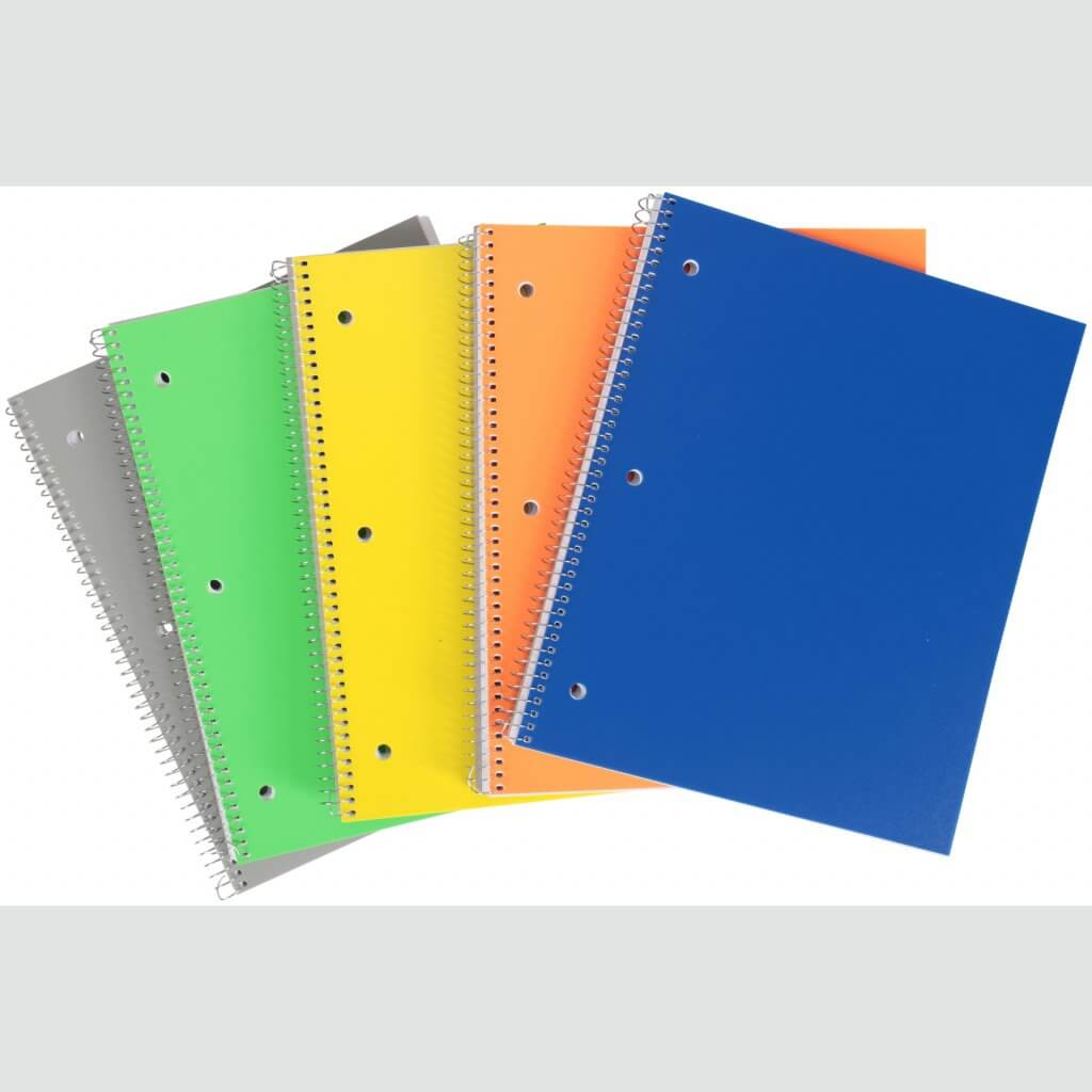 Pen + Gear Poly Cover Notebooks