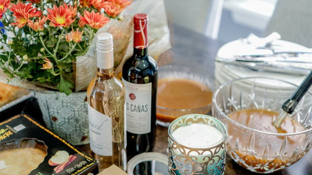 wine on thanksgiving day ideas