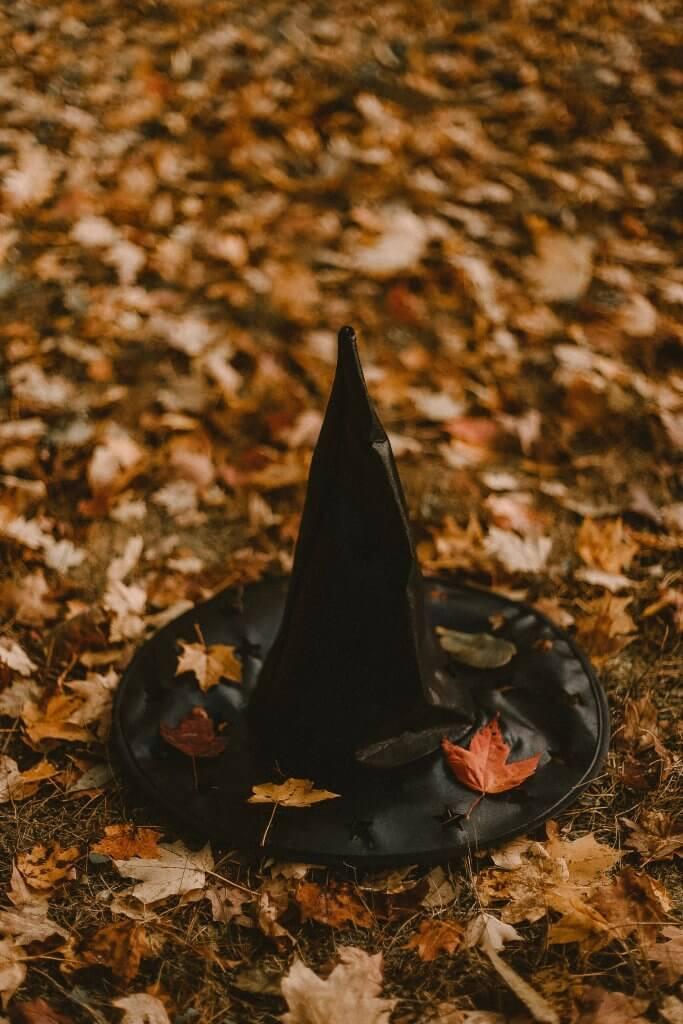 Halloween celebration ideas with hat