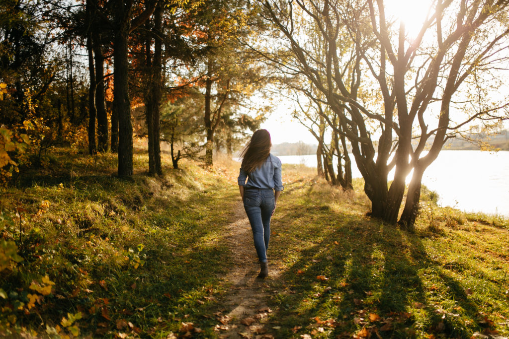 going out in the nature helps keeping creativity at college