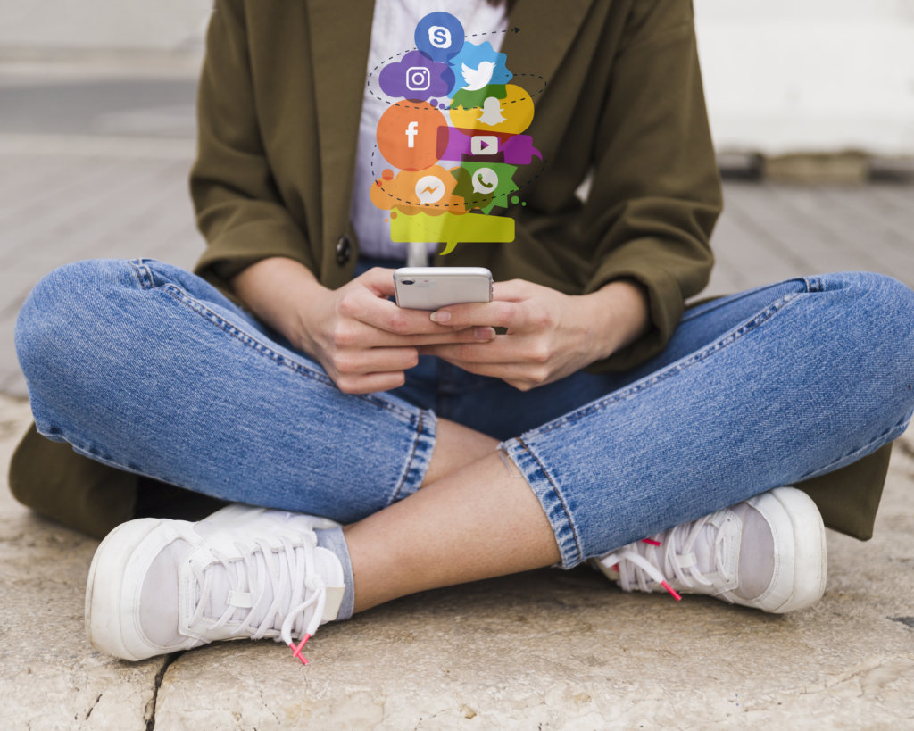 social media also adds towards stress experienced by college students