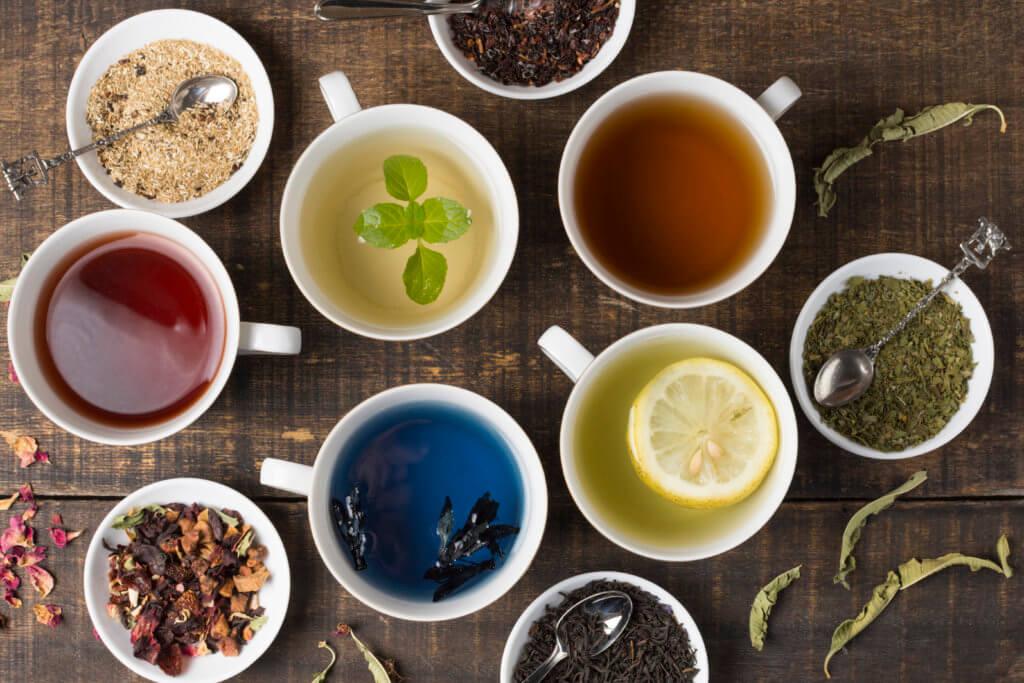 drinking tea helps staying focused