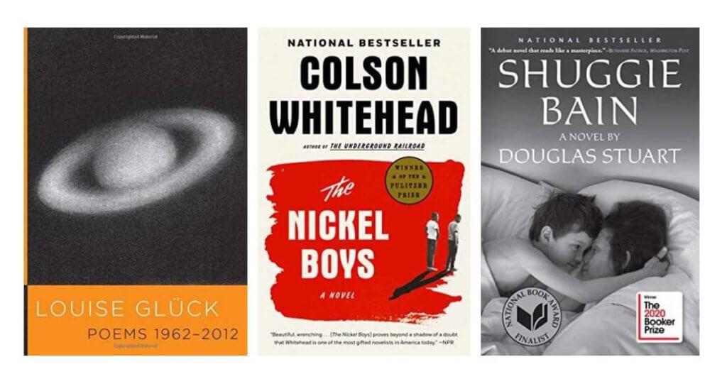 Literary award winning novels of 2020