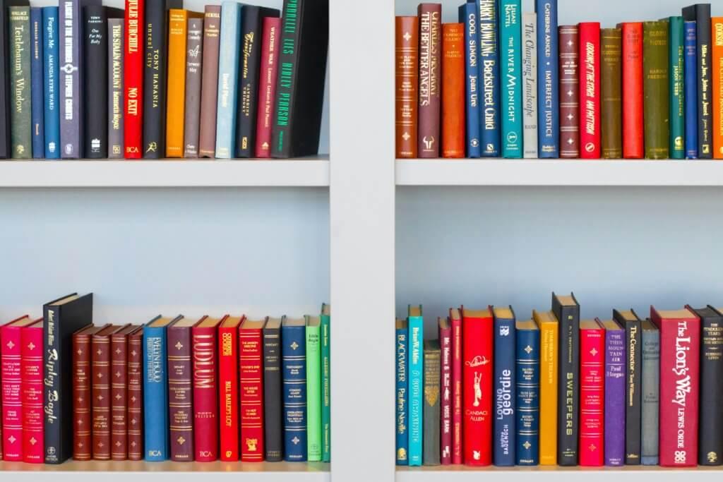various textbook bindings