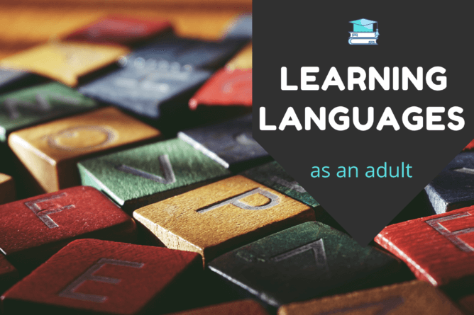 learning languages as an adult