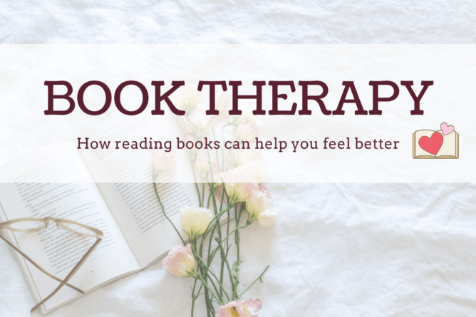 book therapy can help you treat challenging mental states and live through difficulties