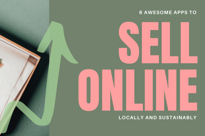 a sustainable package used to sell stuff online