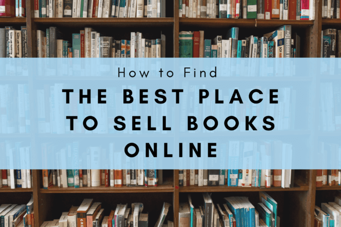 an image showing the best place to sell books online