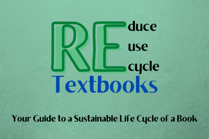 a guide on how to recycle textbooks