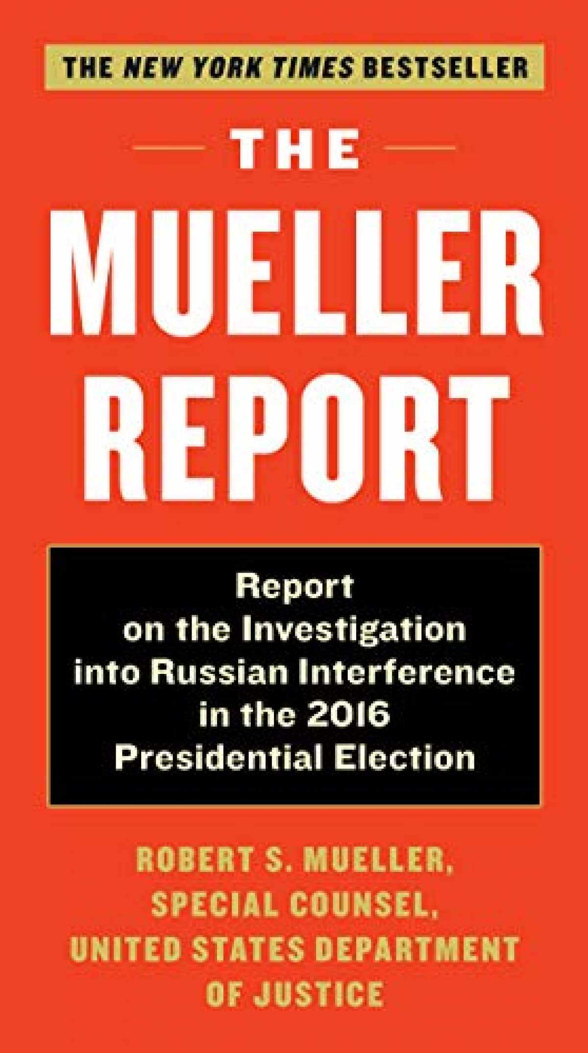 Sell The Mueller Report: Report on the Investigation in