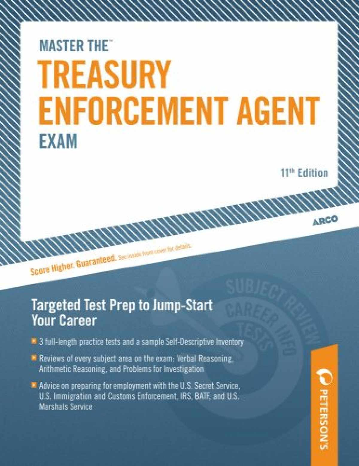 Sell, Buy or Rent Master the Treasury Enforcement Agent Exam