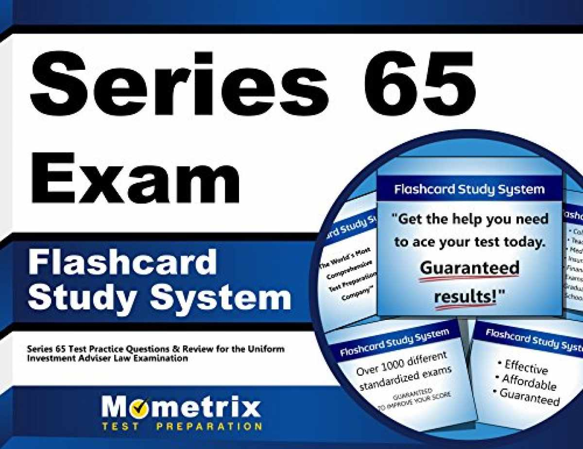 Sell, Buy or Rent Series 65 Exam Flashcard Study System: Series 65 T