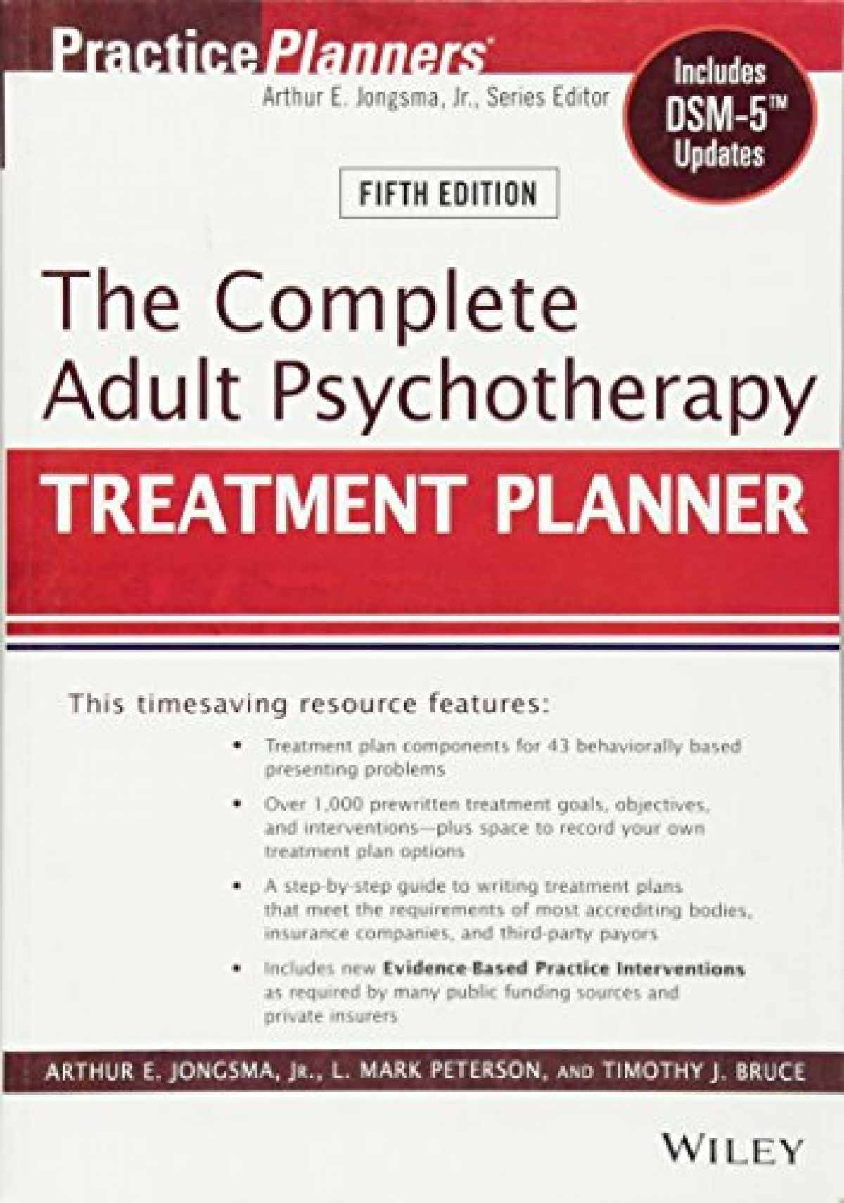 Sell, Buy or Rent The Complete Adult Psychotherapy Treatment Planner
