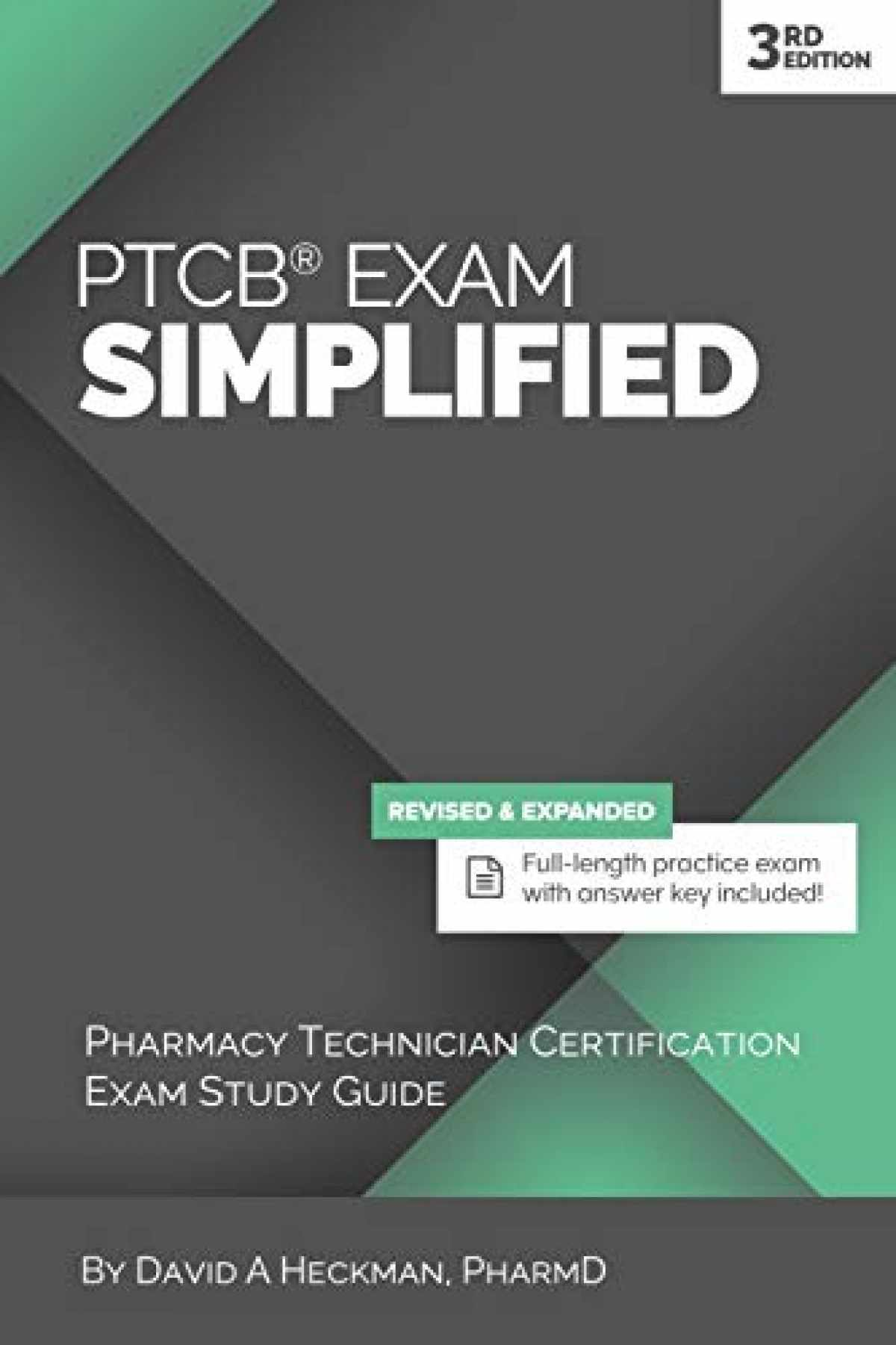 Sell Buy Or Rent Ptcb Exam Simplified 3rd Edition Pharmacy