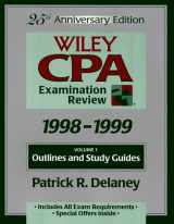 Wiley CPA Examination Review, Outlines and Study Guides (25th Edition. Vol 1 of a 2 Vol Set) (Volume 1)