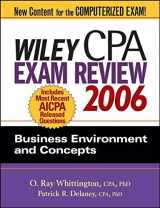 Wiley CPA Exam Review 2006: Business Environment and Concepts (Wiley CPA Examination Review: Business Environment & Concepts)