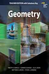 9780544385825-0544385829-HMH Geometry: Teacher Edition with Solutions 2015