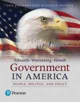 GOVERNMENT IN AMERICA 2016 ELECTION ED (17TH)