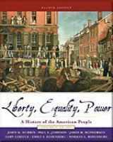 9780006437888-0006437885-Liberty, Equality, Power: A History of the American People, Volume 1: to 1877- Text Only