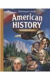 9780618829019-0618829016-American History, Grades 6-8 Beginnings to 1914: Mcdougal Littell American History (McDougal Littell Middle School American History)