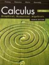9780133179224-0133179222-Calculus-Graphical, Numerical, Algebraic-ATE AP Edition