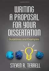 9781462523023-1462523021-Writing a Proposal for Your Dissertation: Guidelines and Examples