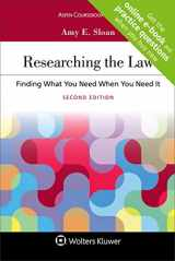 9781454886495-1454886498-Researching the Law: Finding What You Need When You Need It (Aspen Coursebook)