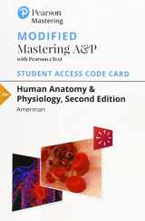 Modified Mastering A&P with Pearson eText --  Standalone Access Card -- for Human Anatomy & Physiology (2nd Edition)