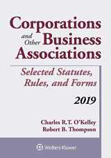 9781543809510-1543809510-Corporations and Other Business Associations: Selected Statutes, Rules, and Forms, 2019 (Supplements)