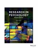 9781119386155-1119386152-Research In Psychology Methods and Design 8E: Methods and Design