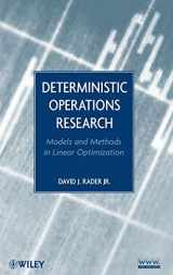 9780470484517-0470484519-Deterministic Operations Research: Models and Methods in Linear Optimization