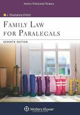 FAMILY LAW FOR PARALEGALS, BY EHRLICH, 7TH ED