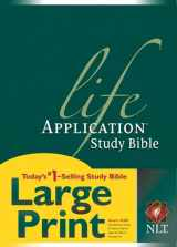 9781414307206-1414307209-NLT Life Application Study Bible, Second Edition, Large Print (Red Letter, Hardcover)