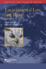9781683287902-1683287908-Environmental Law and Policy (Concepts and Insights)