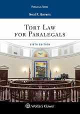 9781454896227-1454896221-Tort Law for Paralegals (Aspen Paralegal)