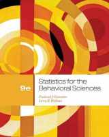 Statistics for the Behavioral Sciences, 9th Edition