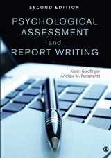 9781452259109-1452259100-Psychological Assessment and Report Writing (NULL)