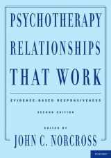 9780199737208-0199737207-Psychotherapy Relationships That Work: Evidence-Based Responsiveness