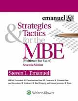 9781543805727-1543805728-Strategies & Tactics for the MBE (Bar Review)