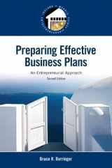 9780133506976-0133506975-Preparing Effective Business Plans: An Entrepreneurial Approach (2nd Edition) (Pearson Entrepreneurship)