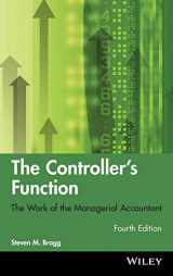9780470937426-0470937424-The Controller's Function: The Work of the Managerial Accountant