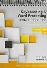 9781337373104-1337373109-Bundle: Keyboarding and Word Processing Complete Course Lessons 1-110: Microsoft Word 2016, Spiral bound Version, 20th + Keyboarding in SAM 365 & ... Processing, Multi-Term Printed Access Card