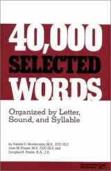 9780761623007-0761623000-40,000 Selected Words