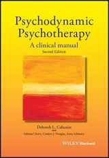 9781119141983-1119141982-Psychodynamic Psychotherapy: A Clinical Manual