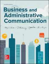 9781259580628-1259580628-Business and Administrative Communication
