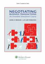 9781454830719-1454830719-Negotiating Business Transactions: An Extended Simulation Course (Aspen Courseboook)